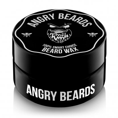 Angry Beards BEARD WAX vosk na fúzy, 30ml